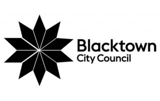 ENE.HUB Blacktown City Council Logo Black