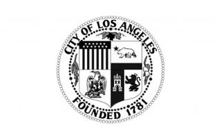 ENE.HUB City of Los Angeles Logo Black