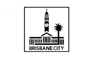 ENE.HUB Brisbane City Council Logo Black