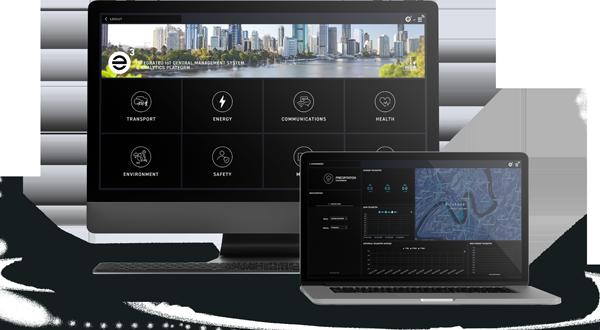 ENE.HUB e3 IoT Data Management and Analytics Platform Screens